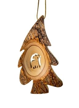 Rustic Christmas Ornaments | Deer Ornaments | Hummingbird ...