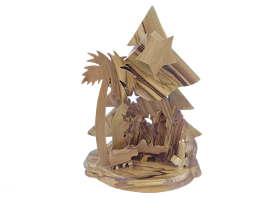 E24MB - Tree shaped grotto with music box