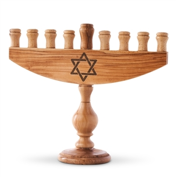 "MS15 - 9 Candle Menorah - 7""x 8"""
