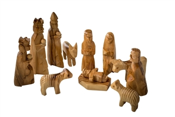 NS02 - Nativity Set for children - 3.5""
